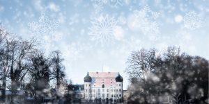 Maxlrainer Schloss im Schnee